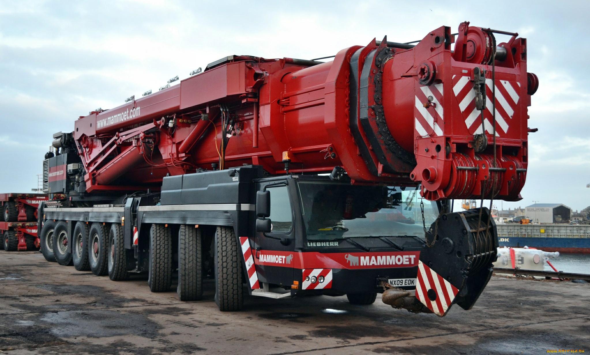 Mobile Crane Machine : Mammoet liebherr lg cranes